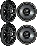 (4) KICKER 43CSC654 CSC65 6.5' 6-1/2' 1200w 4-Ohm Car Audio Coaxial Speakers