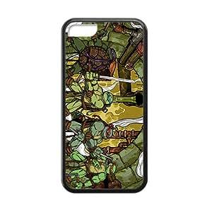 RHGGB Teenage Mutant Ninja Turtles Design Pesonalized Creative Phone Case For Iphone 5C