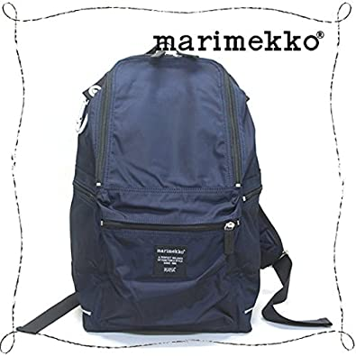 f89e4564861c 【marimekko】マリメッコ 026994 770 BUDDY バディ【dark blue ダークブルー】 リュック デイパック