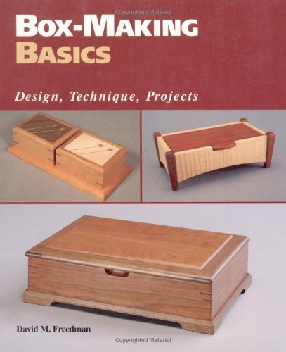 Box-Making Basics: Design, Technique, Projects]()