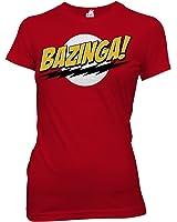 Ripple Junction Big Bang Theory Bazinga Junior T-Shirt