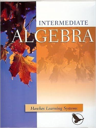 Intermediate Algebra Online Bundle Hawkes Learning Systems  Intermediate Algebra Online Bundle Multimedia Cd  Cdrom