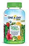 One A Day Kids with Nature's Medley Complete Multivitamin Supplement Gummies, 110 Count