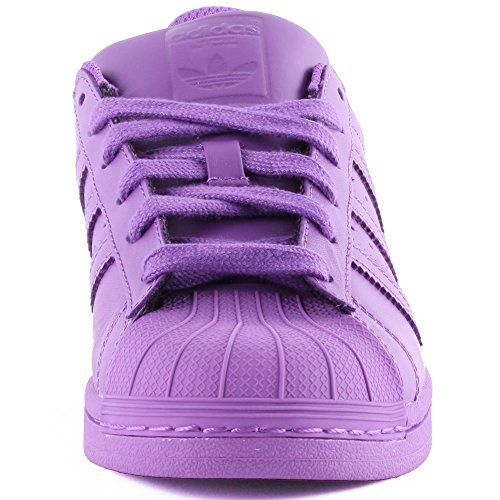 Adidas Superstar Foundation Herren Sneakers Lila (ray Purple)
