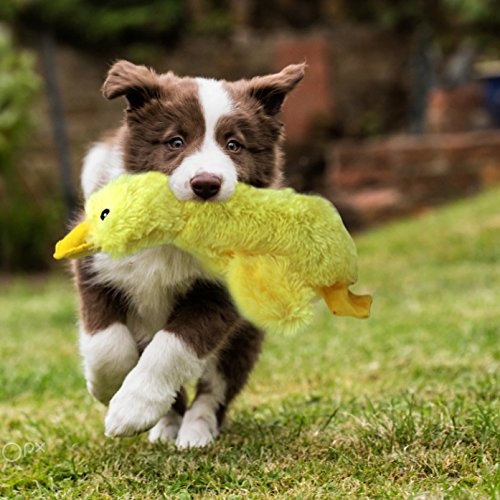 "Mihachi Plush Squeaky Dog Toys-Pet Toy Duck,for Medium and Large Dogs,14"" Long"