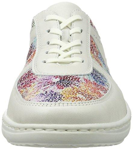 Waldläufer 399004 Ama764 148, Zapatillas Mujer Multicolor (Offwhite Multi)