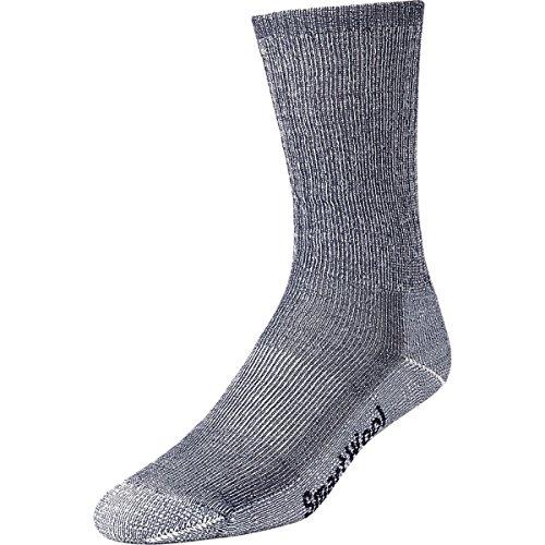 Smartwool Men's Hike Medium Crew Socks, L, Grey
