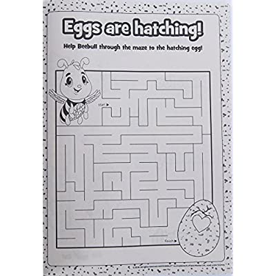 Bendon Publishing International Hatchimals Color and Activity Book - 64 Pages: Toys & Games