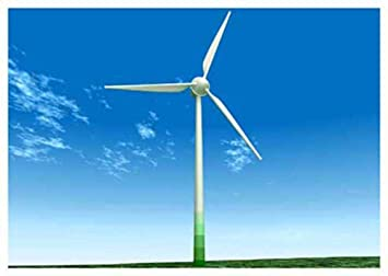 Amazon com: 3D Motion Lenticular Postcard - WIND TURBINE