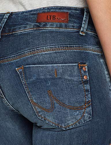 Wash Rennis Jeans LTB Blau Slim Femme Molly 51260 Jean 1gT10w