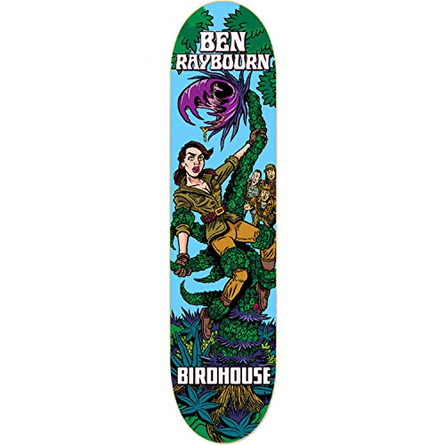 代数的サンダー抑圧BirdhouseスケートボードBen Raybourn mexipulpスケートボードDeck – 8.25