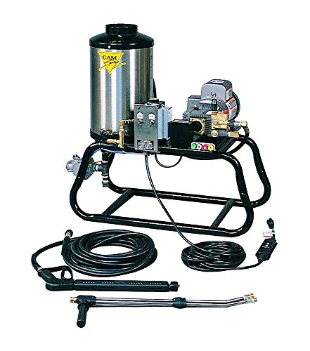 Cam Spray 1000STLEF Stationary LP Gas Fired Electric Powered Hot Water Pressure Washer, 1000 psi, 50' Hose from Cam Spray