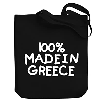 Teeburon 100 MADE IN Greece Canvas Tote Bag