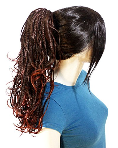 Weeknd Hair Costume (Phoebe (Color# 2t35) Synthetic ponytail Hair Extension)