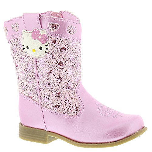 [Hello Kitty HK Trixie Girls' Boot 10 B(M) US Pink] (Next Kids Boots)
