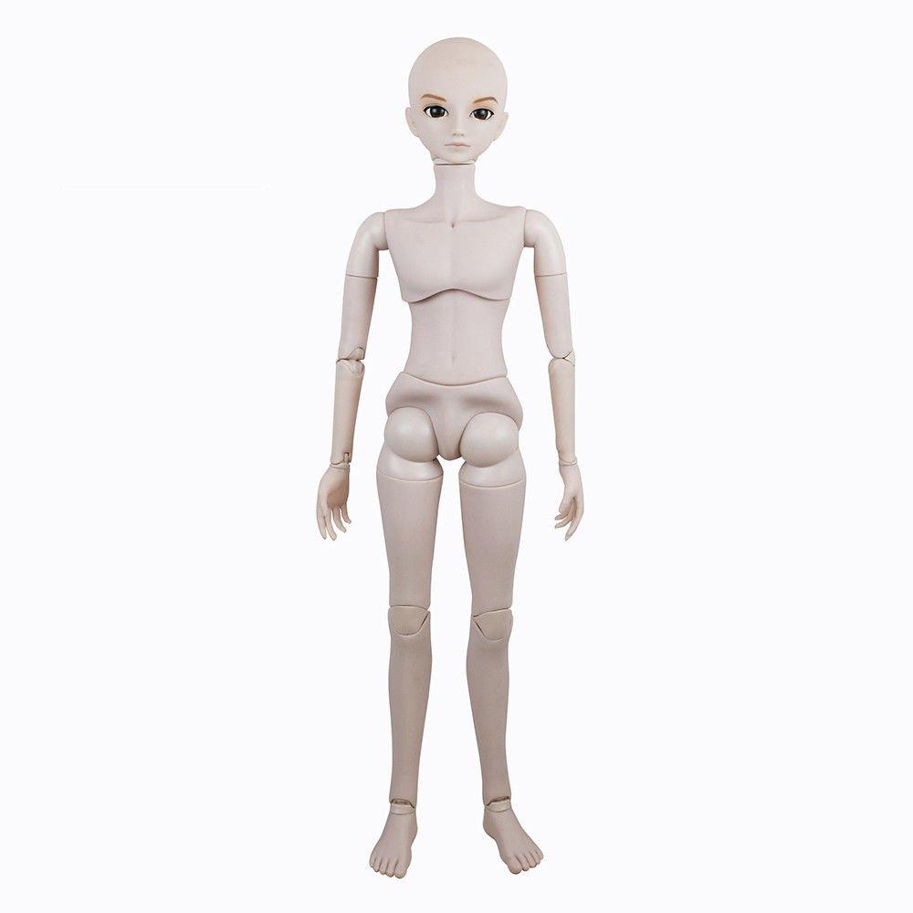 22'' BJD Doll Customized 56cm Jointed Dolls Toy BJD Dolls + Basic Makeup (M01A 22'' Male) by EVA BJD