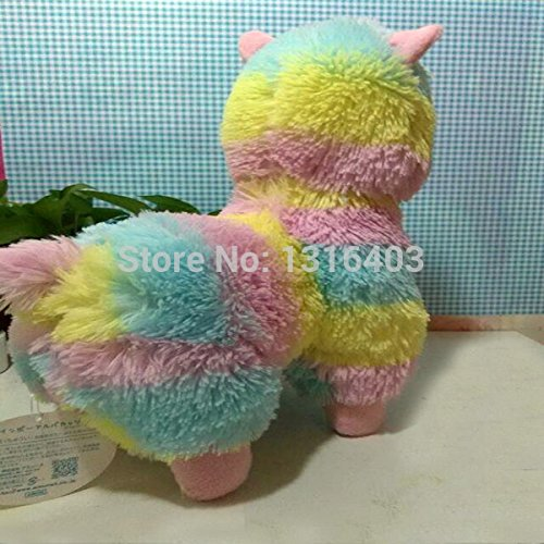 Amazon.com: 2015 Brinquedos 35cm Rainbow Alpaca Plush Toys Adora Doll Japan Alpaca Alpacasso Peluches Animal Sheep Llama Stuffed Toy: Baby
