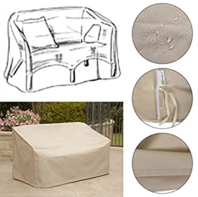 Cover Pation Waterproof Round Outdoor Set Seat Loveseat Beach Cover Funiture Prodection