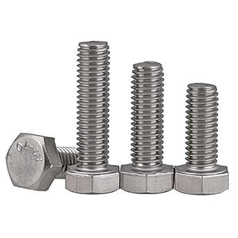 Thread Size: M10 Metric Steel Metric Class 8.8 Fully Threaded - Coarse Thread Metric Zinc Plating M10-1.50 x 70mm Hex Head Cap Screws Length: 70mm Metric Quantity: 50 pcs