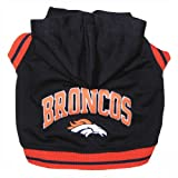 Cheap Pets First NFL Denver Broncos Hoodie, Large