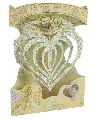 (Santoro Graphics SWING CARD - SC127 - LOVE (HEARTS) Greeting Card)