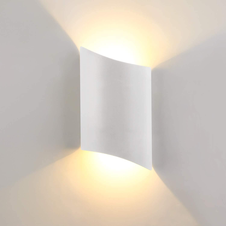 Lightess 12W Wandleuchte Innen LED Modern, Wandlampe