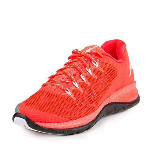 Nike Jordan Men's Jordan Flight Runner 2 Infrared 23/White/Black Running Shoe 10.5 Men US (Jordan Flight 1 Low)
