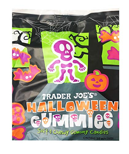Trader Joe's Limited Edition Halloween Gummy Candies 1 Pack, 20 Mini bags for $<!--$11.90-->