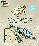 Incredibuilds Animal Collection Sea Turtle 3D Wood Model