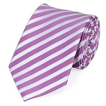 Corbata de Fabio Farini en rosa blanco: Amazon.es: Ropa y accesorios