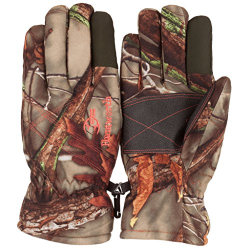Huntworth Women's Waterproof Classic Hunting Gloves, Oak Tree EVO, Small Classic Insulated Gloves