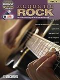 ACOUSTIC ROCK GUITAR PLAY-   ALONG VOLUME 6 (ROLAND EBAND CUSTOM BOOK WITH USB STICK (Boss Eband Guitar Play-Along)