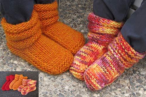 Children's Mukluk Slippers 113 Knitting Pure & ()