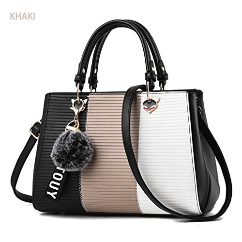Women Tote For Stereotypes Crossbody Handbag Fashion Women Bag Patchwork Bag Women Top Bag Khaki Handle CxXwY7ZAnq