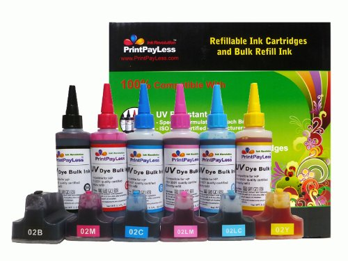 PrintPayLess® brand Pre-filled Refillable Ink Cartridges ...
