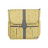 JJ Cole Backpack Diaper Bag, Citrine Lattice