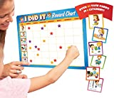 Rewards Chore Chart for Kids - 49 Responsibility and Behavior Chores - Ultra Thick Magnetic Board