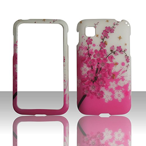 Spring Flower Lg Optimus Dynamic 2 Ii Lg39c L39c (By Net 10 / Tracfone / Straight Talk) Snap on Hard Case Shell Cover Phone Protector Faceplate Rubberized Accessory