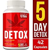CANNABIOLOGY Detox Supplement - Urinary Tract UT Cleanse & Bladder Health - Fast-Acting Detoxifying Strength, Flush Impurities, Clear System - Milk Thistle Pills - 42 Vegetarian Capsules