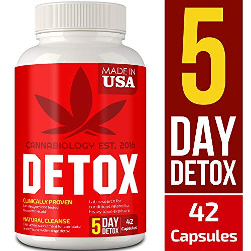 CANNABIOLOGY Detox Supplement - Urinary Tract UT Cleanse & Bladder Health - Fast-Acting Detoxifying Strength