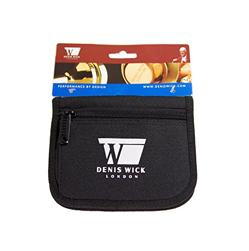 Denis Wick DWA231 3-Piece Nylon Mouthpiece Pouch for Cornet, French Horn or Trumpet by Denis Wick