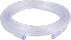Mars Wellness Oxygen Tubing - Premium Clear Crush Resistant Oxygen Tubes - 25 Foot - 3 Tubes