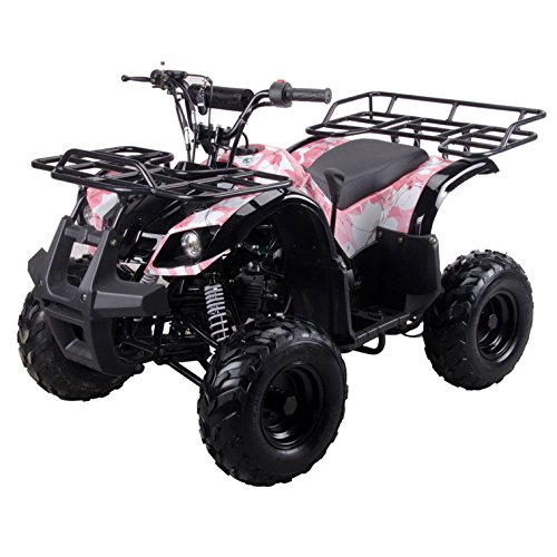 Coolster ARMY PINK 3125R New 125CC Kids ATV Fully Auto with Reverse by CRT MOTOR INC -US (Image #3)