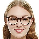 OCCI CHIARI Optical Eyewear Non-prescription Eyeglasses Frame with Clear Lenses For Women