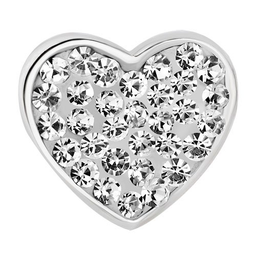 Jewelry Heart I Love You Mom New Charms Clear Birthstone