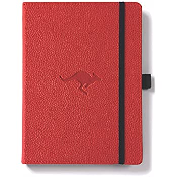 Collection Here 58th Ave Bullet Journal red - Dot Grid Planner Executive Notebook