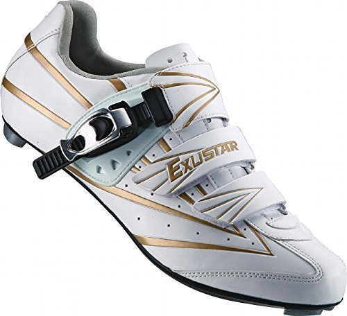 Exustar E-SR911 Road Shoe, White, Size 44