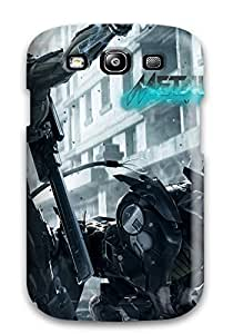 Hot Design Premium EVPJxke4754GCKmL Tpu Case Cover Galaxy S3 Protection Case(metal Gear Rising Revengeance 3)