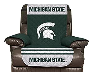 Sensational Amazon Com Ncaa Michigan State Spartans Recliner Andrewgaddart Wooden Chair Designs For Living Room Andrewgaddartcom
