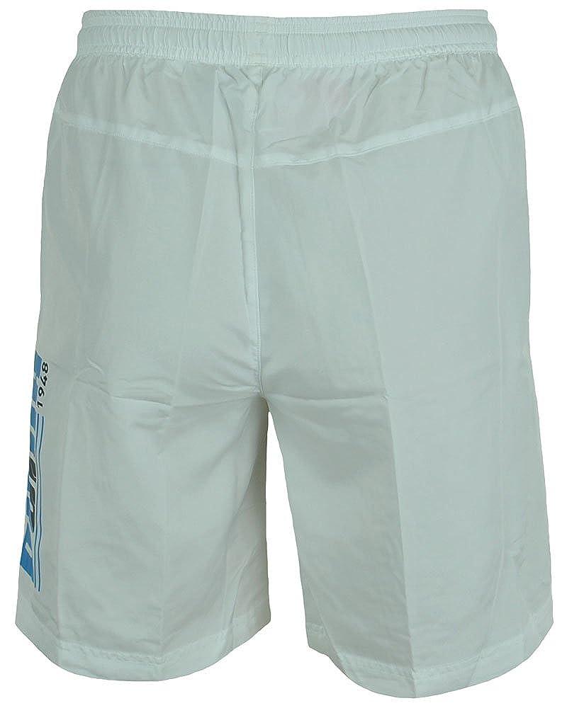 40e8d7b3d16f7 Puma Beach Short Men's Bermuda Board Shorts White   Amazon.com